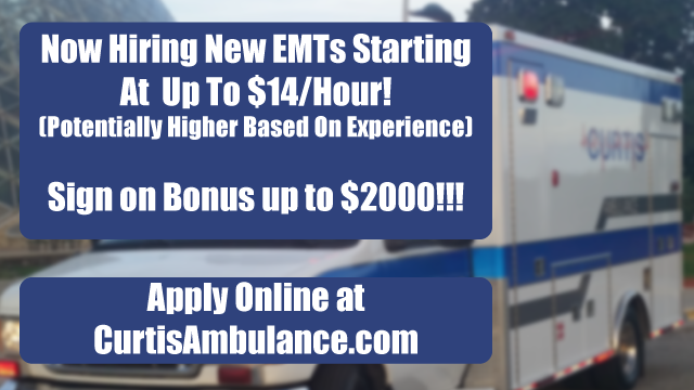 Now Hiring EMTs